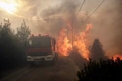 یونان میں بھیانک آگ پر قابو نہیں پایا جاسکا