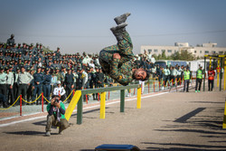 Nat. police skills competitions underway in Isfahan