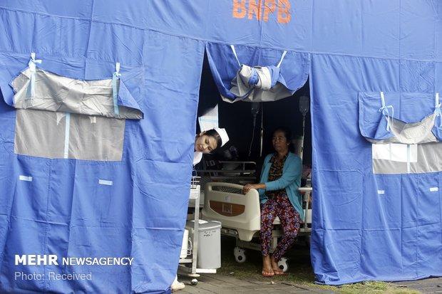 خسارات زلزله اندونزی
