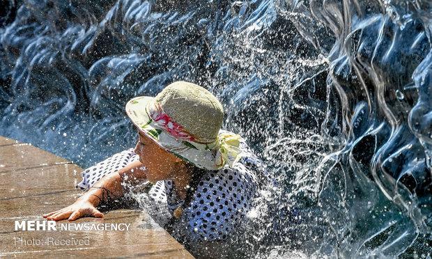 موج گرما در نقاط مختلف جهان