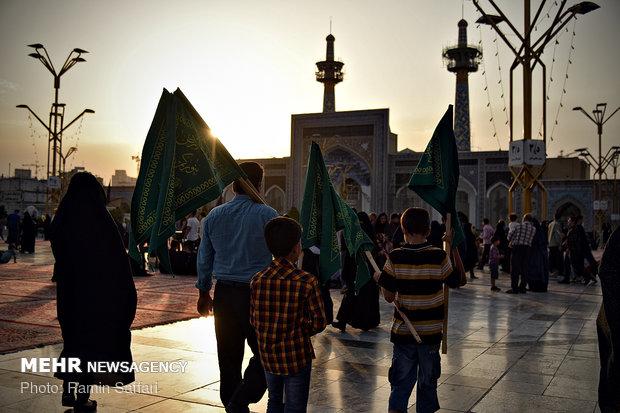 مراسم ویژه روز زیارتی مخصوص حضرت رضا (ع)