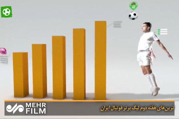 ترینهای هفته دوم لیگ برتر فوتبال ایران