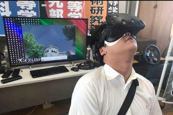 بازسازی انفجار هسته ای هیروشیما با واقعیت مجازی