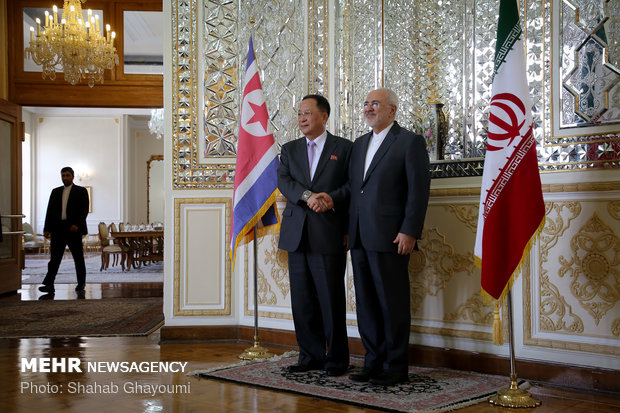 Iran, N Korea FMs' meeting in Tehran