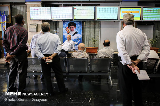 CBI's new currency package ups Tehran stock exchange market