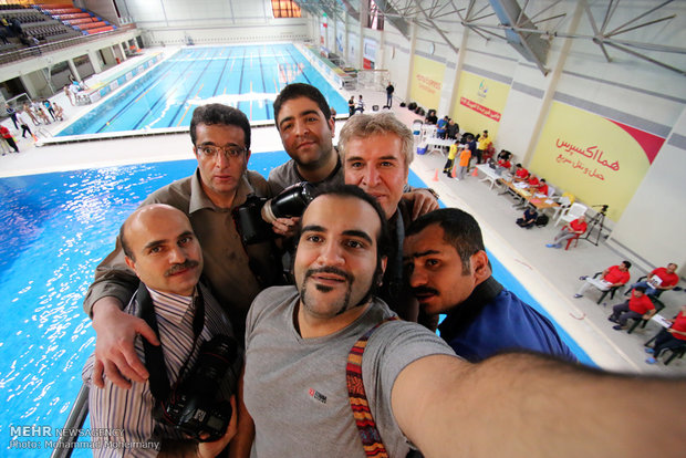 Photo journalists mark Aug. 8, Journalists' Day in Iran
