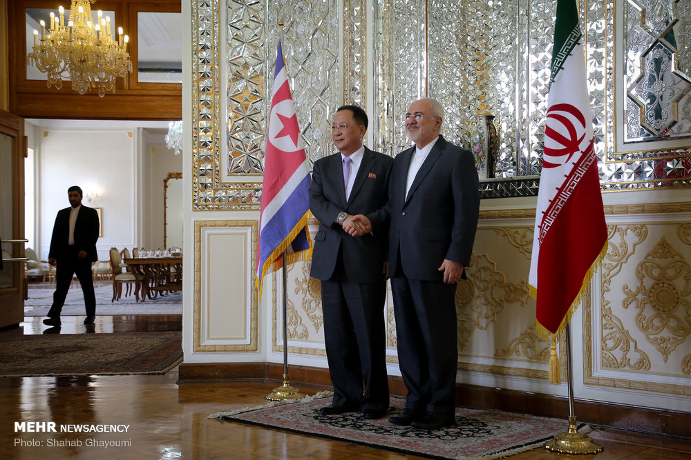 In Tehran meeting, Iranian President warns N. Korean FM about