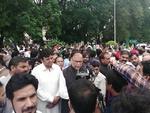 پاکستان کے شہر فیصل آباد میں وکلاء کا احتجاج