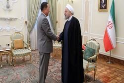 Ruhani Kuzey Kore Dışişleri Bakanı'nı kabul etti