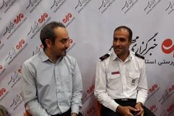 برگزاری کلاس آموزش آتش نشانی ویژه خبرنگاران گلستان