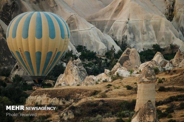 بالون سواری در کاپادوکیای ترکیه