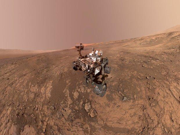 مقدار بی سابقه ای از گاز متان در مریخ رصد شد