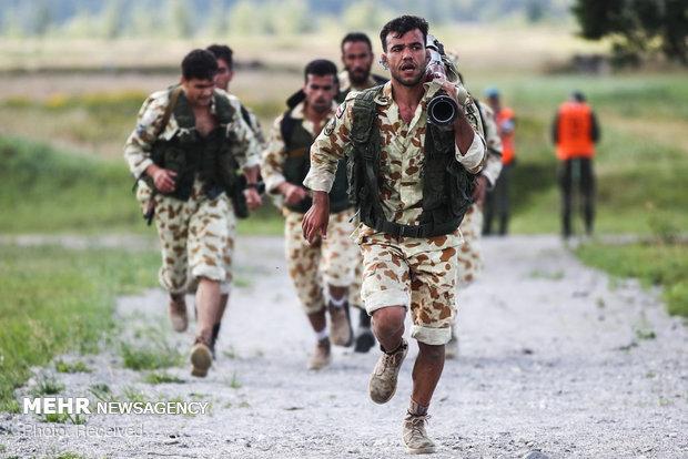 در رقابت یگان هوابرد ارتش های جهان، تیم جمهوری اسلامی ایران بعد از روسیه و چین مقام سوم را کسب کرده است.