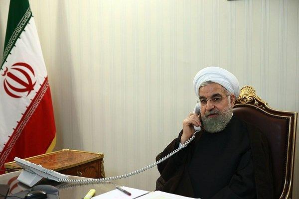 روحاني يأمر بمتابعة حادث الاعتداء الإرهابي بشكل حاسم وسريع