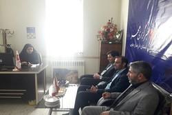 فرماندار خوسف از دفتر خبرگزاری مهر در خراسان جنوبی بازدید کرد
