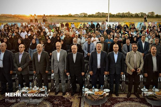 """افتتاح نادي """"الأمل والحياة"""" الرياضي في مشهد"""