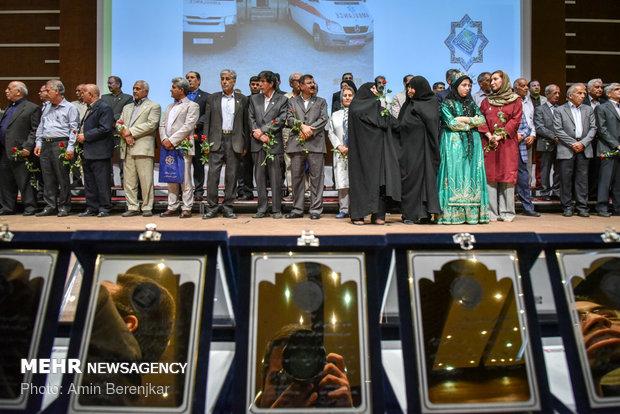 هفدهمین اجلاس خیرین حوزه سلامت استان فارس برگزار شد