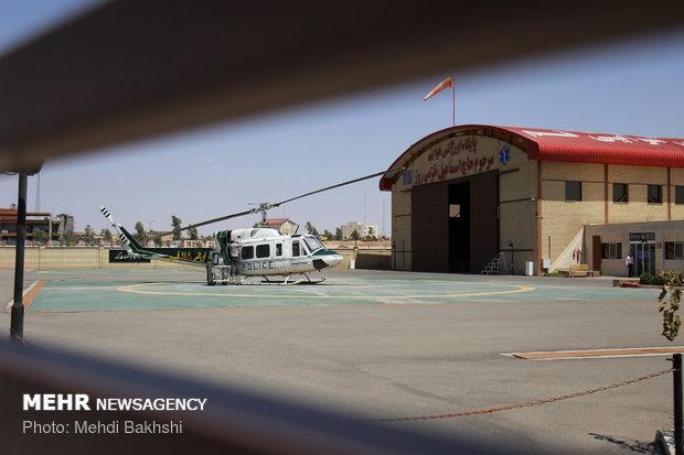 استان گیلان از اورژانس هوایی بهره مند می شود