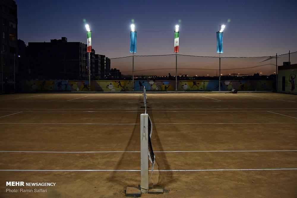 افتتاح مجموعه ورزشی امید و زندگی