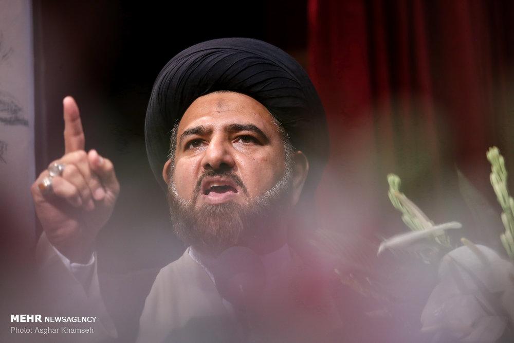 بزرگداشت شهید سید عارف حسین الحسینی
