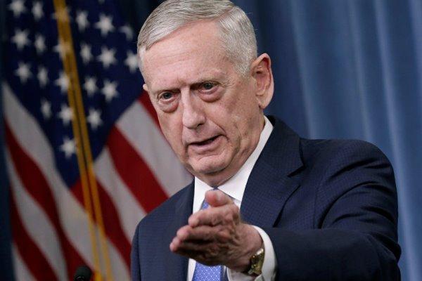 «ماتیس»اتهام نقش حمایتی آمریکا از حمله تروریستی اهواز را رد کرد!