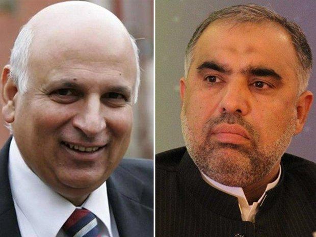 اسد قیصر پاکستانی قومی اسمبلی کے اسپیکر نامزد/چوہدری سرور پنجاب کے گورنر نامزد