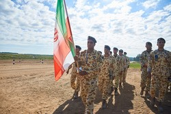 Iran finishes 3rd in 'Airborne Platoon' contest