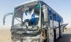 سرگودھا میں تیز رفتار بس اور کالج وین میں تصادم سے 7 افراد ہلاک