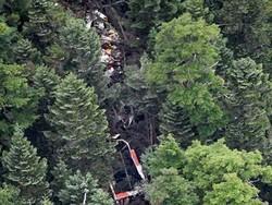 جاپان میں ہیلی کاپٹر گر کر تباہ / 9 افراد ہلاک
