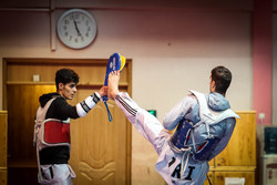 Iran Natl. Taekwondo team train before heading to 2018 Asian Games