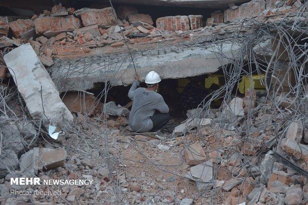 انڈونیشیا میں زلزلے سے ہلاک ہونے والے افراد کی تعداد 380 ہو گئی