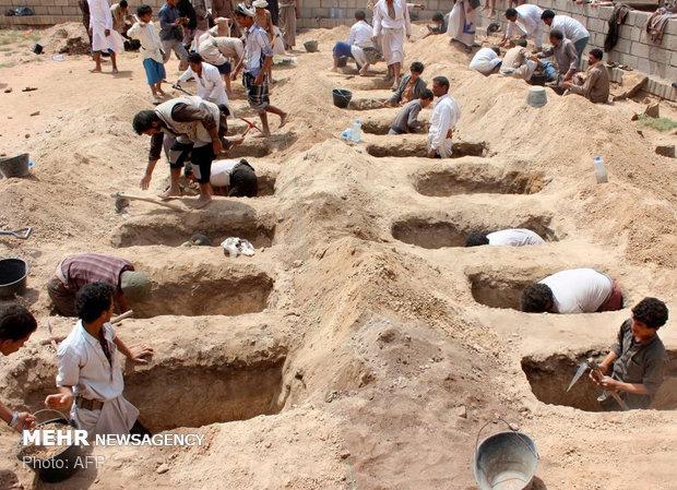 Büyük cinayet için küçük mezarlar