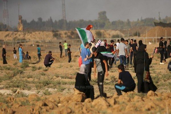 شهيدان و 307 إصابة بينهم إصابة خطيرة على حدود قطاع غزة