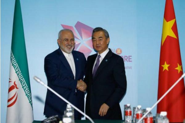 ایران اور چين کے تجارتی تعلقات کسی اور ملک کے نقصان میں نہیں ہیں