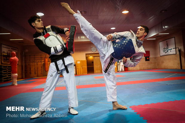 Latest training of Iran National Taekwondo Team before heading to 2018 Asian Games