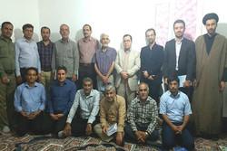 شبانه ادبی فایز  در دشتی برگزار شد
