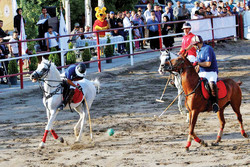 Polo competition held in Tabriz