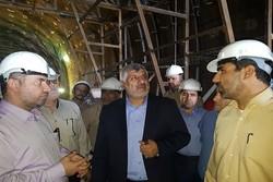 بازدید فرمانده قرارگاه خاتم از پروژه قطار سریعالسیر تهران-اصفهان