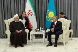 Iran-Kazakhstan transit potentials complementary: Pres. Rouhani