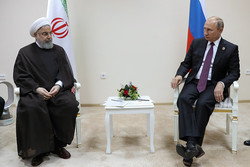 Rouhani, Putin vow to keep interactions on regional, intl. issues