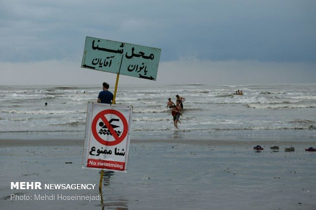 شناسایی ۴۰۶ منطقه ممنوعه شنا در ساحل مازندران