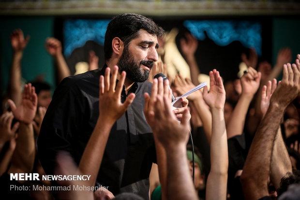 شب شهادت امام جواد (ع) در هیات ریحانة الحسین (س)