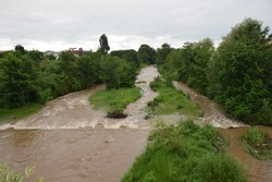 River flooding in Lavandevil