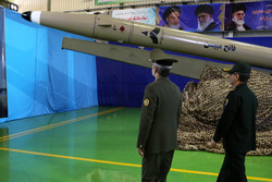 Unveiling of new generation of 'Fateh-e Mobin' missiles