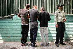 دستگیری باند سارقان منزل و مغازه در شهرستان تاکستان