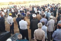 پیکر قرآنپژوه برجسته کشور در آبپخش خاکسپاری شد