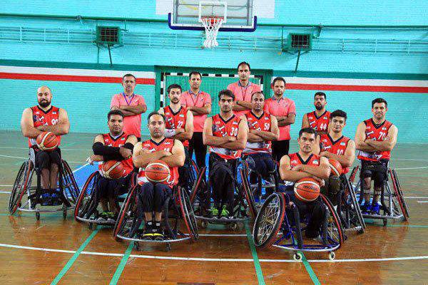 ايران تفوز على المغرب ببطولة العالم  لكرة السلة بالكراسي