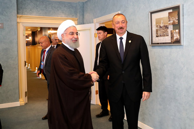 Rouhani hails major development in Tehran-Baku ties