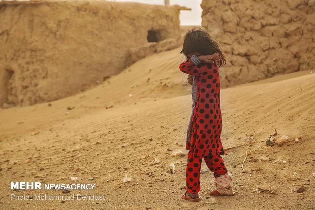 طوفان سیستان ۵۷۸ نفر را روانه بیمارستان کرد