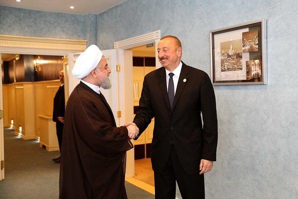 رئيس جمهورية آذربيجان يهنيء ذكرى انتصار الثورة الاسلامية